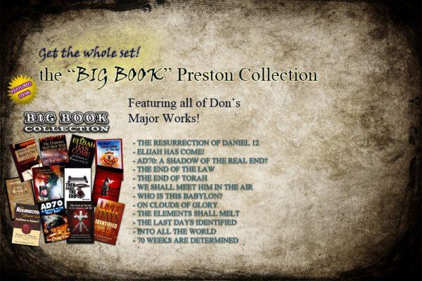 Don Preston's Big Books Collection